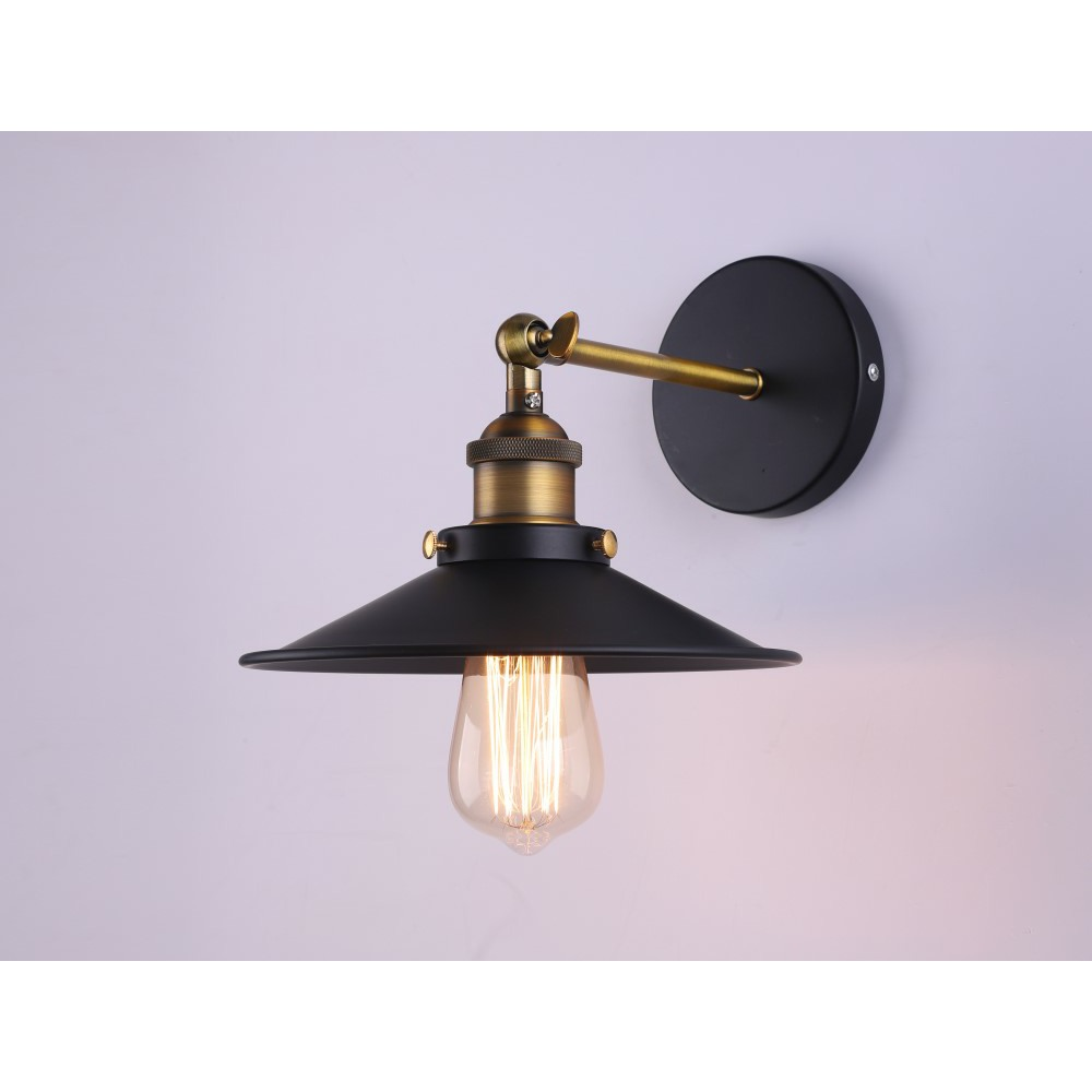 Industrial Metal Wall Lamp Retro Wall Light Rustic Wall Sconce Vintage Brass Ebay