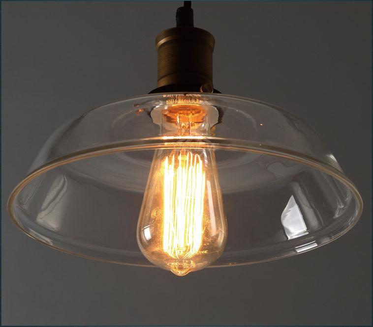 Modern vintage industrial retro loft glass ceiling lamp shade modern vintage industrial retro loft glass ceiling lamp mozeypictures Gallery