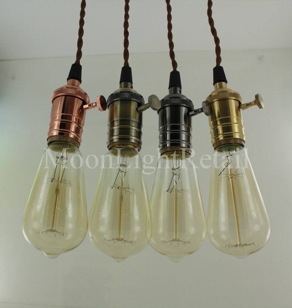 edison pendant iron decorative personalized nordic heads lights for hand light drop bar item from black shore industrial in painted cafe dining ceiling