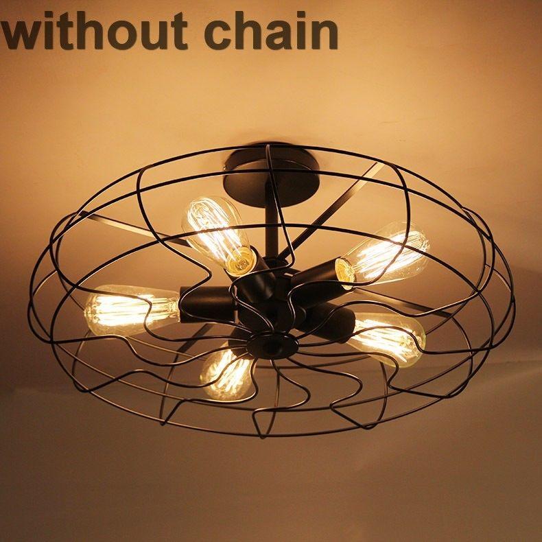 Industrial fan style lighting iron edison ceiling wall light lamp industrial fan style lighting iron edison aloadofball Gallery