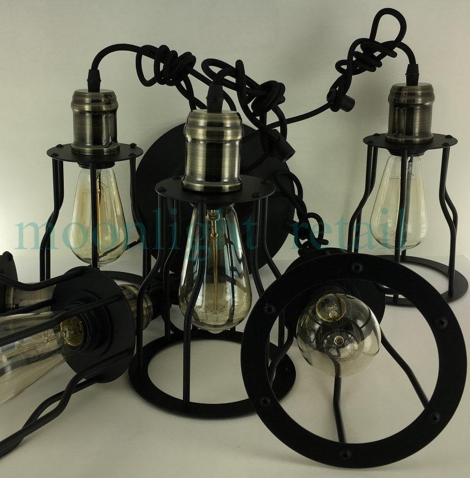 chandelier edison light iamp big fixtures adjustable mordern spider bulb ceiling diy nordic art