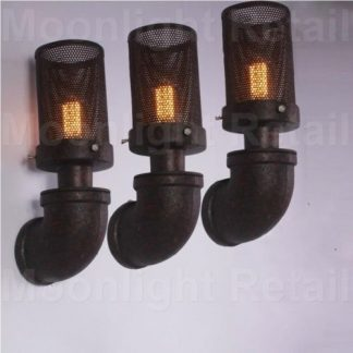 You Re Viewing Pipe Mesh Wall Lamp Retro Light Rustic Sconce Vintage 39 50 43
