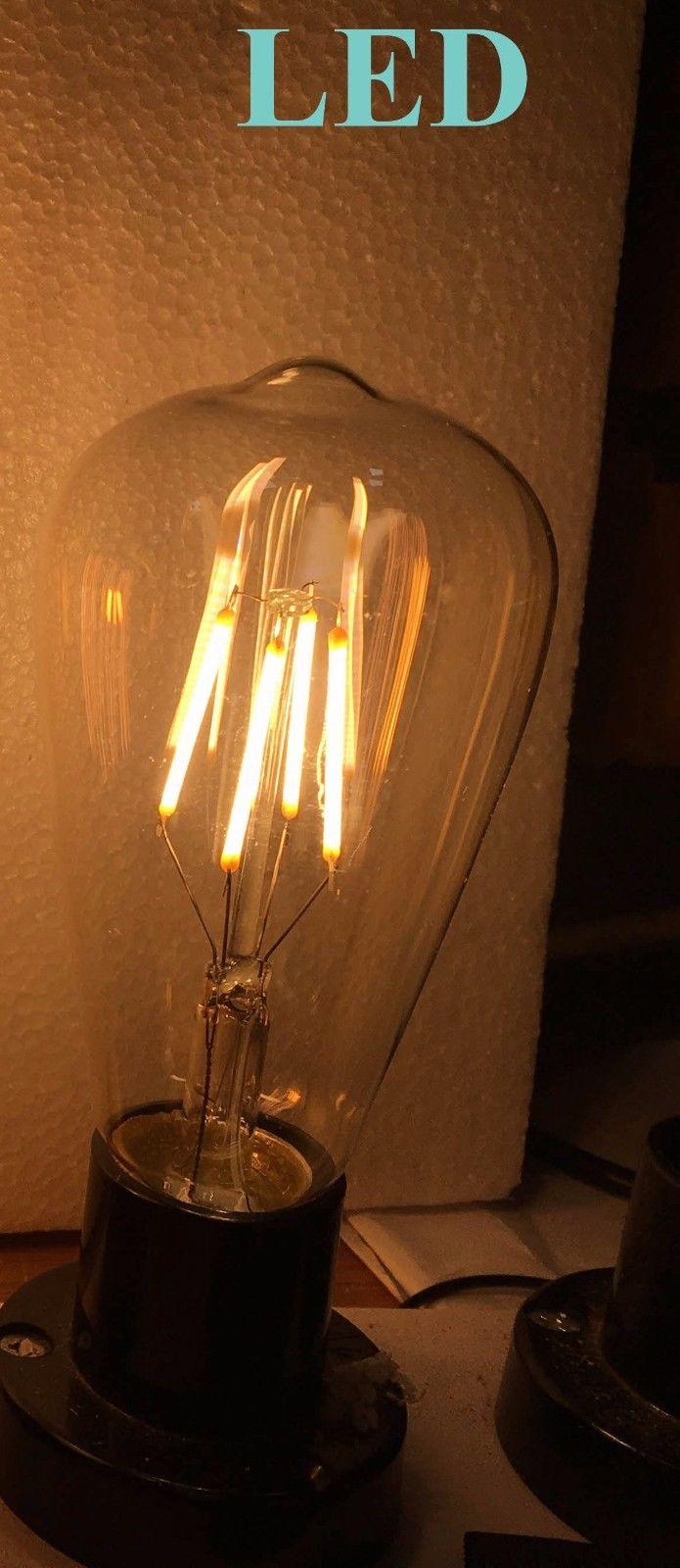 Modern Amber Vintage Industrial Retro Glass Ceiling Lamp Shade Pendant Light Moonlight Retail