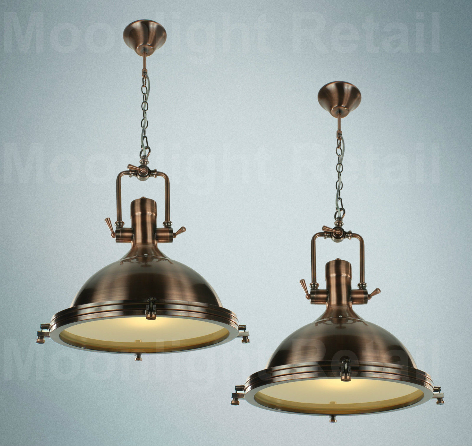 Searchlight Porthole Nautical Industrial Light Vintage Metal Ceiling Copper Or Moonlight Retail